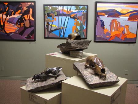 Algonquin Arts Centre - Opening - Silvi Skullpture