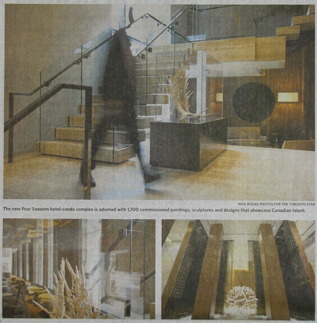 The Star - Coverage of Four Seasons Toronto opening, 2012